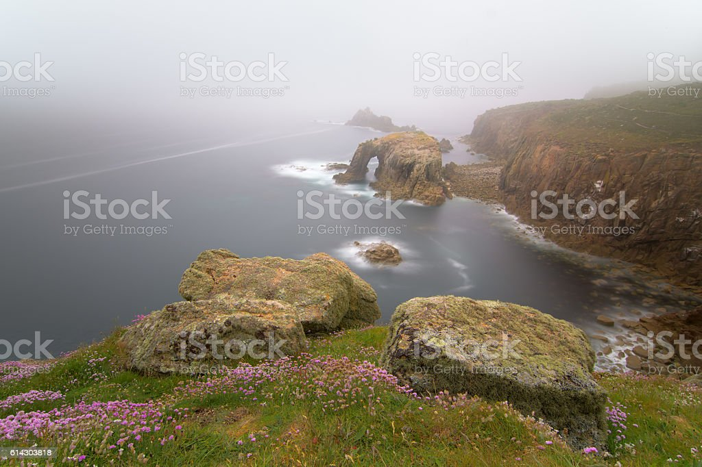 Land's End, Cornwall stock photo