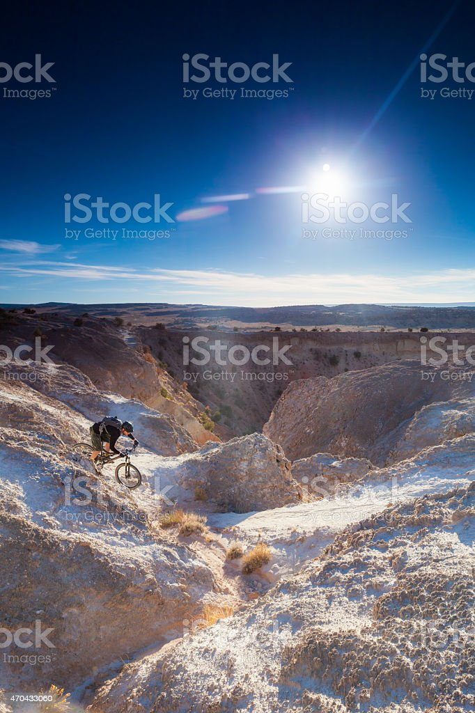 landscape adventure and fitness stock photo