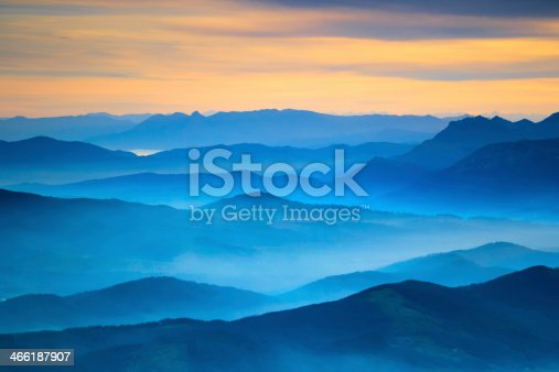 Aerial View from Gorbea, Spain