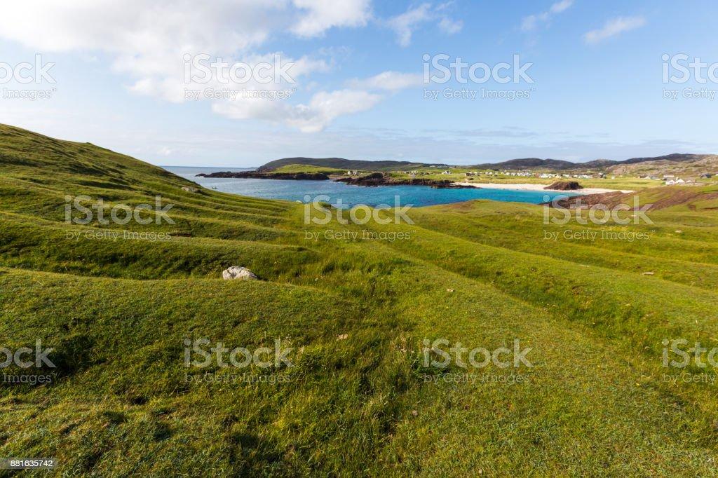 Landschaft am Clachtoll Strand – Foto