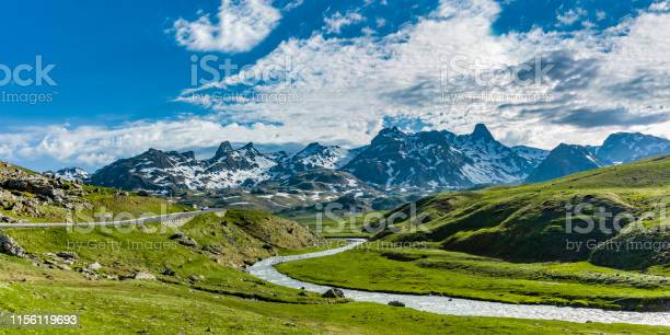 Photo of Landscape at the Col du Pourtalet in the Pyrenees