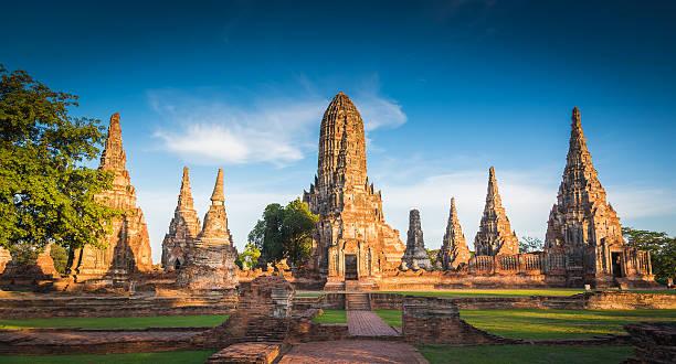 Landscape Ayutthaya Historical Park in Ayutthaya – Foto