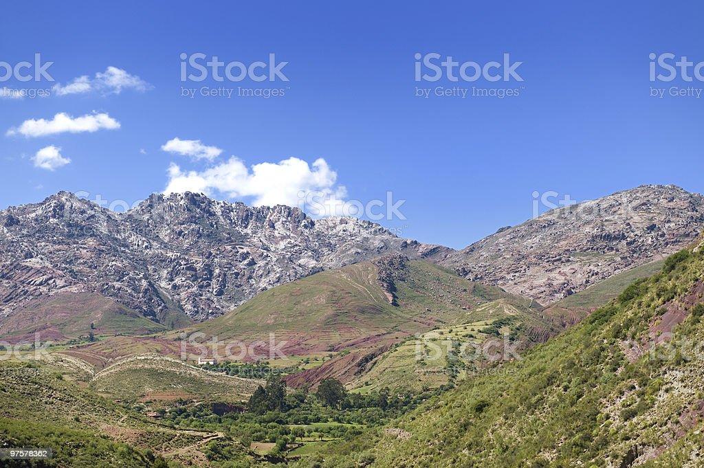 Paysage Bollivia. photo libre de droits