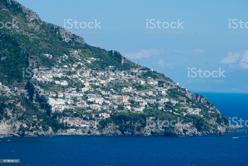 Landscape Capo di Conca, Italy royalty-free stock photo