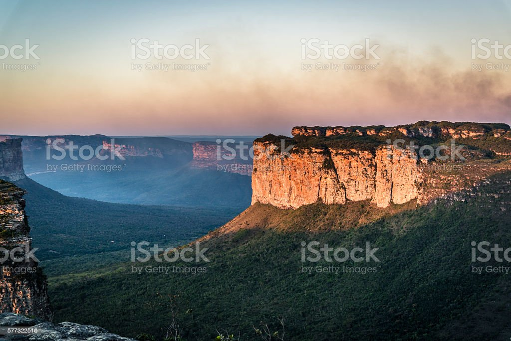 Landscape, Chapada Diamantina, Bahia, Brazil stock photo