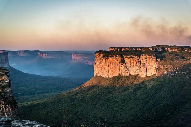 landscape, chapada diamantina, bahia, brazil - плато стоковые фото и изображения