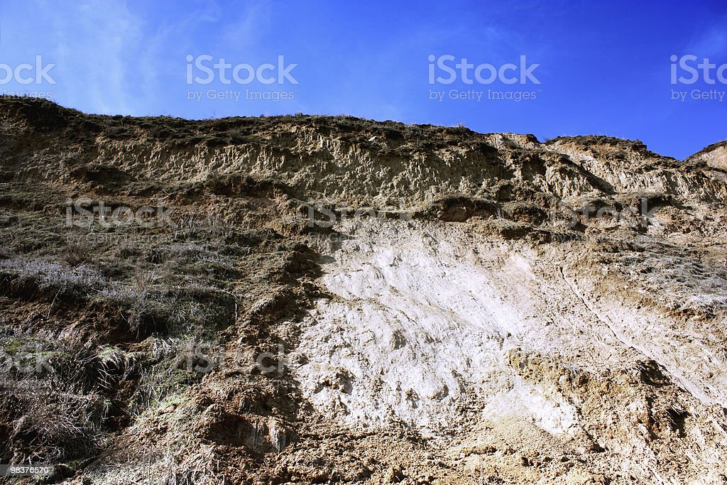 landscape deformation royalty-free stock photo
