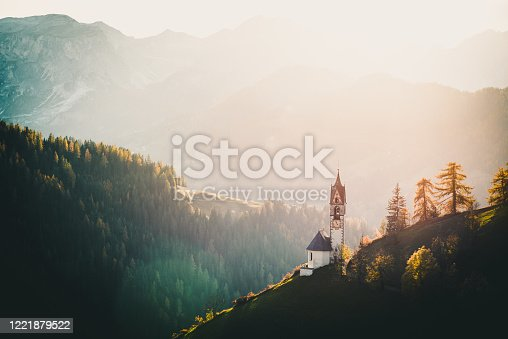 istock Landscape, Dolomites, South Tirol, Italia, Europe 1221879522