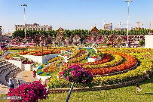 istock Landscape Dubai Miracle Garden in Dubai, United Arab Emirates. 1015461774