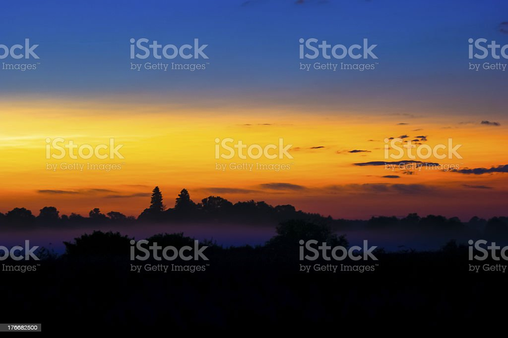 Landscape during spring royalty-free stock photo
