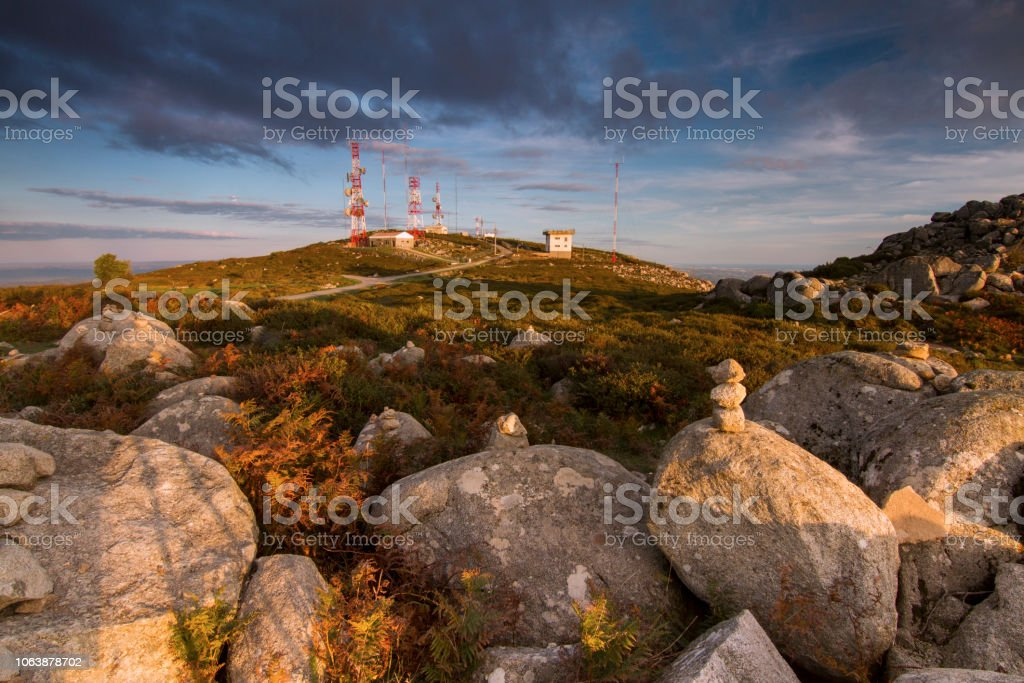 Landscape Featuring A Pile Of Rocks Stock Photo Download