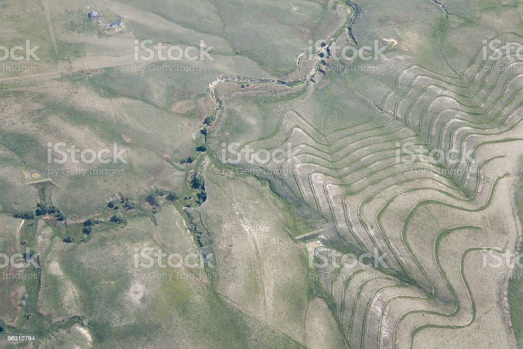 Landscape from Above royalty-free stock photo