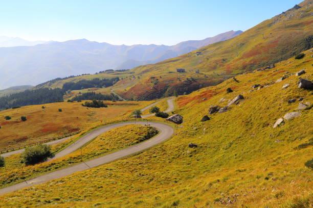 landscape from Monte Cimone stock photo