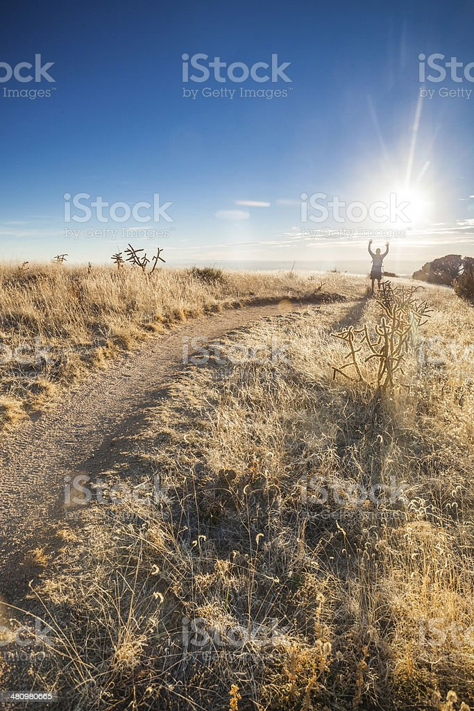 landscape happiness royalty-free stock photo