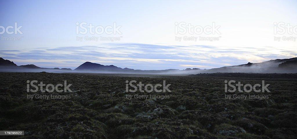 Landscape Iceland stock photo