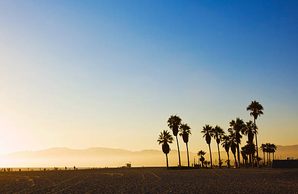 Venice Beach au coucher du soleil - Photo