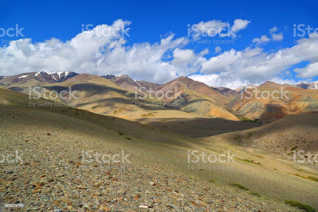 landscape in Altai mountains - Zbiór zdjęć royalty-free (Bez ludzi)