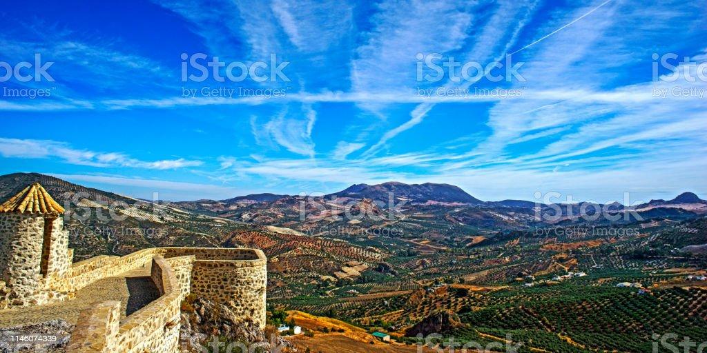 landschaft in andalusien – Foto