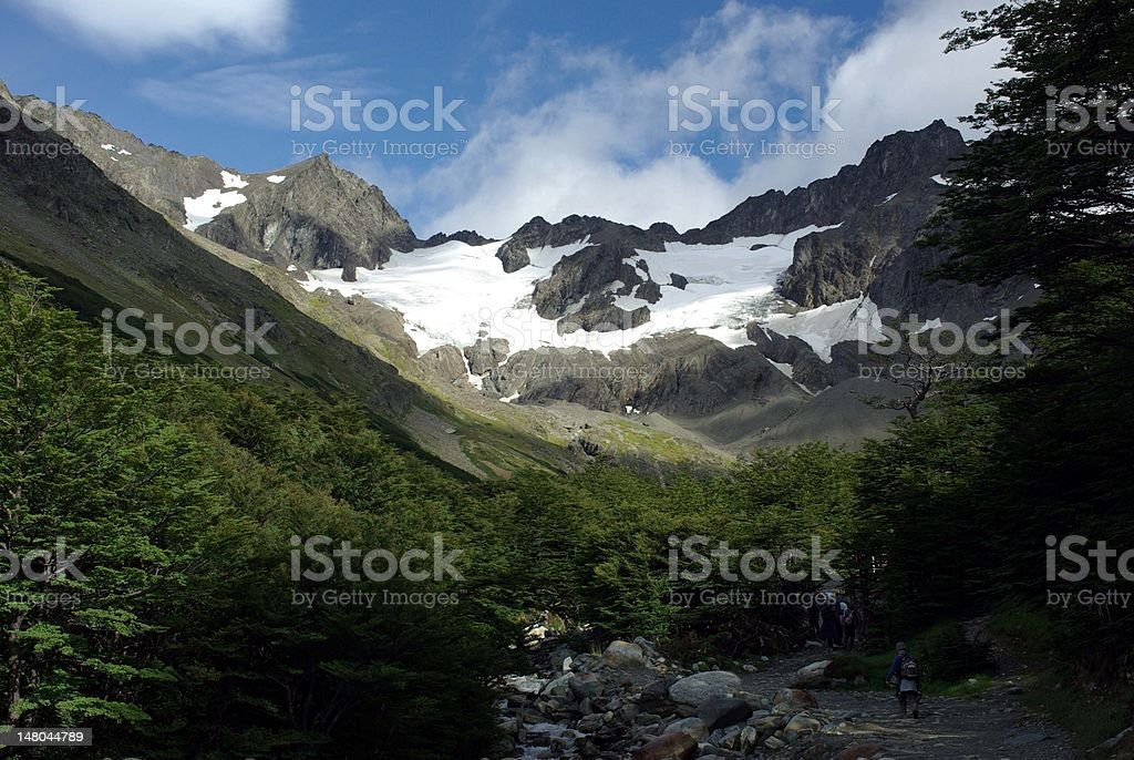 Landscape in Argentina royalty-free stock photo