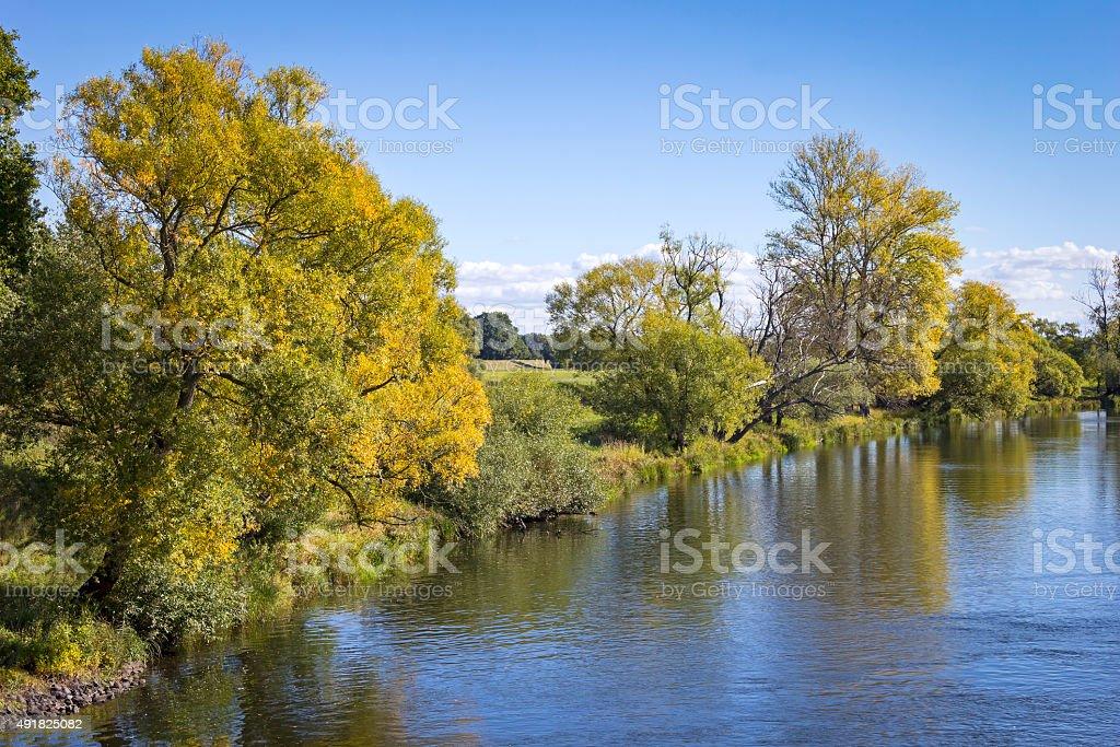 Landscape in Autumn stock photo