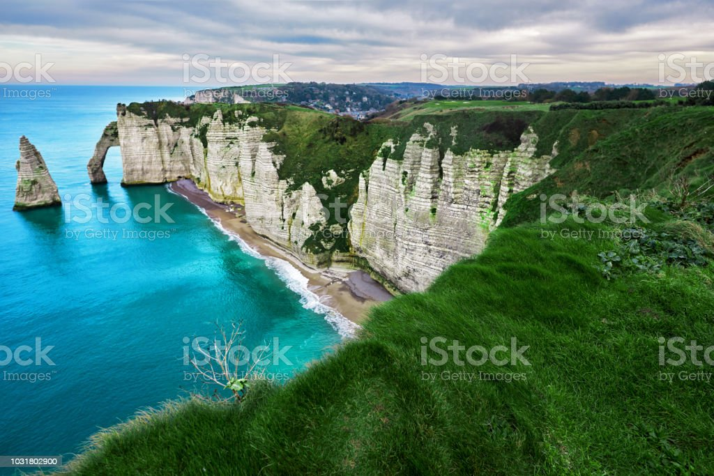 Landschaft in Etretat – Foto