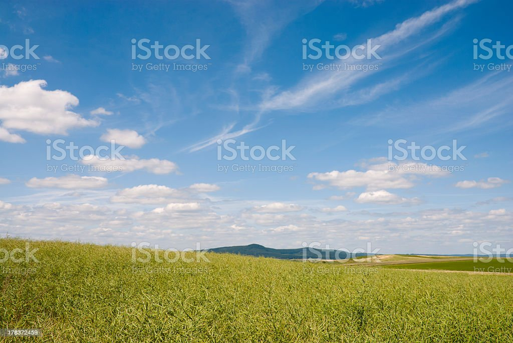 Landscape in Germany royalty-free stock photo