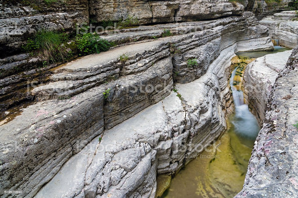 Landscape in Greece stock photo