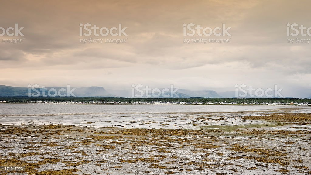 Landscape in Gros Morne National Park royalty-free stock photo