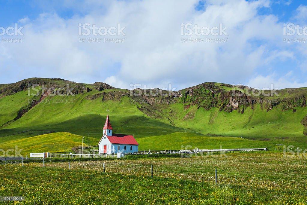 Landschaft in Island Lizenzfreies stock-foto