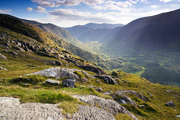 Landscape in Ireland stock photo