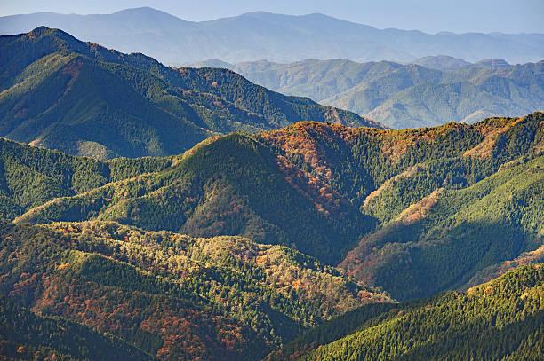 Landscape in Koyasan,Japan stock photo