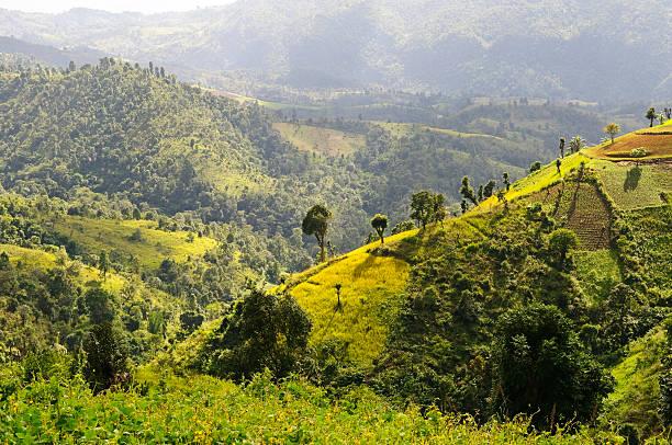 Landschaft in Myanmar nahe Kalaw – Foto