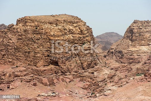 Landscape In Petra Jordan Stock Photo & More Pictures of Ancient