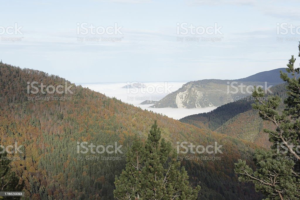 Landscape in Pyrenees royalty-free stock photo