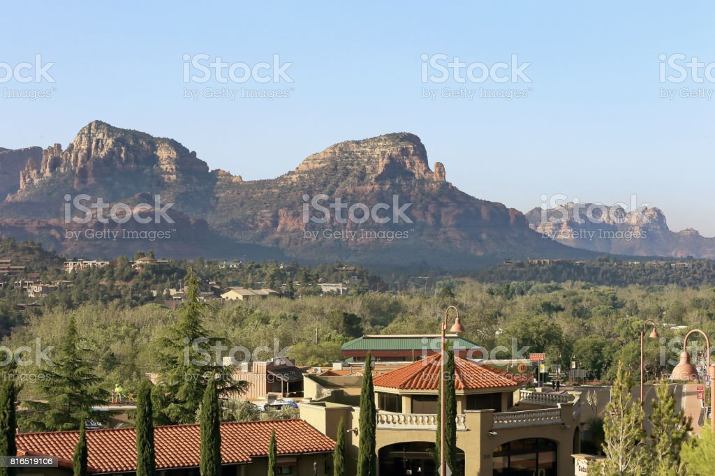 Landscape in Sedona, AZ, USA stock photo