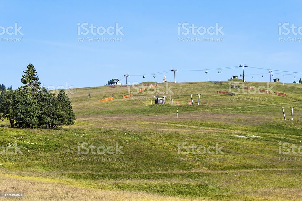 landscape  in the Black Forest, Germany Feldberg royalty-free stock photo