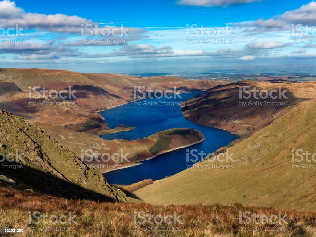 Landscape in the Lake District National Park, UK royalty-free stock photo