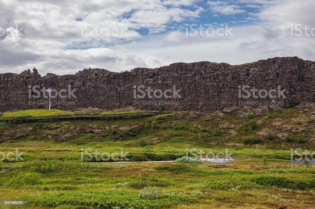 Landschaft in Thingvellir – Foto