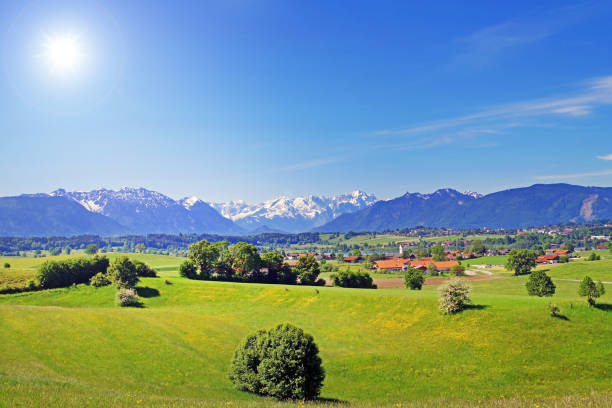 Landschaft in Oberbayern – Foto