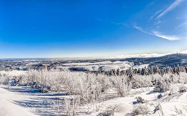 Landschaft im Winter – Foto
