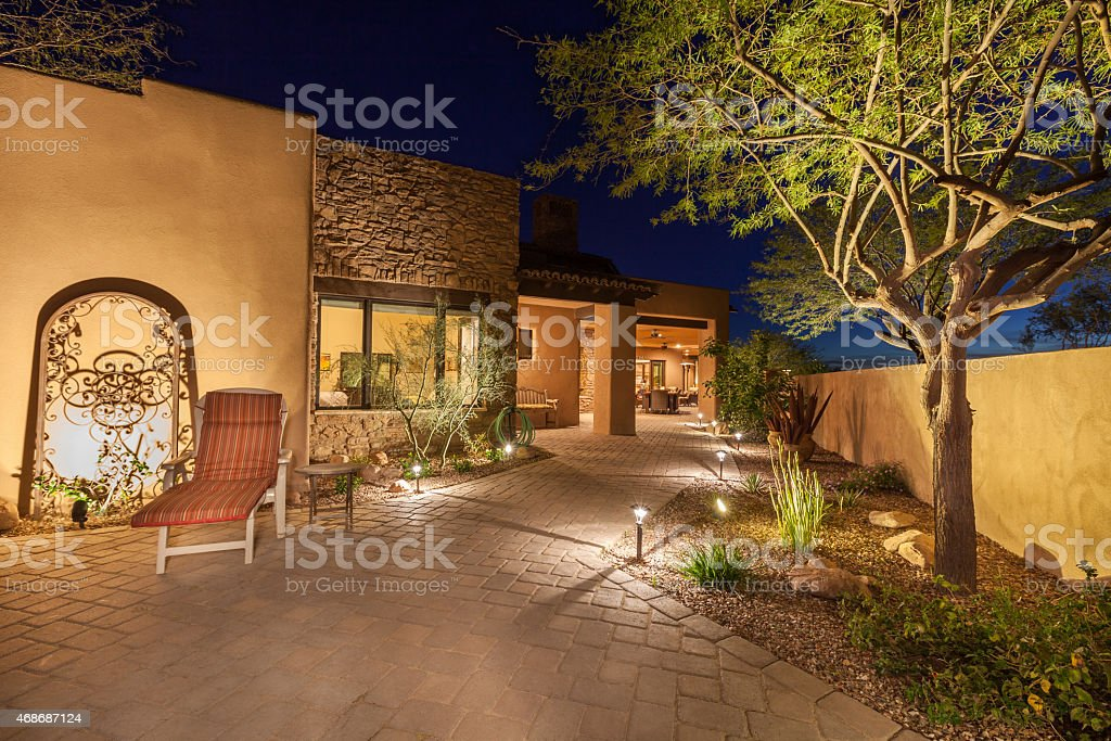 Landscape Lighting stock photo