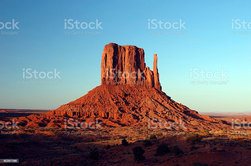Landscape : Monument Valley royalty-free stock photo