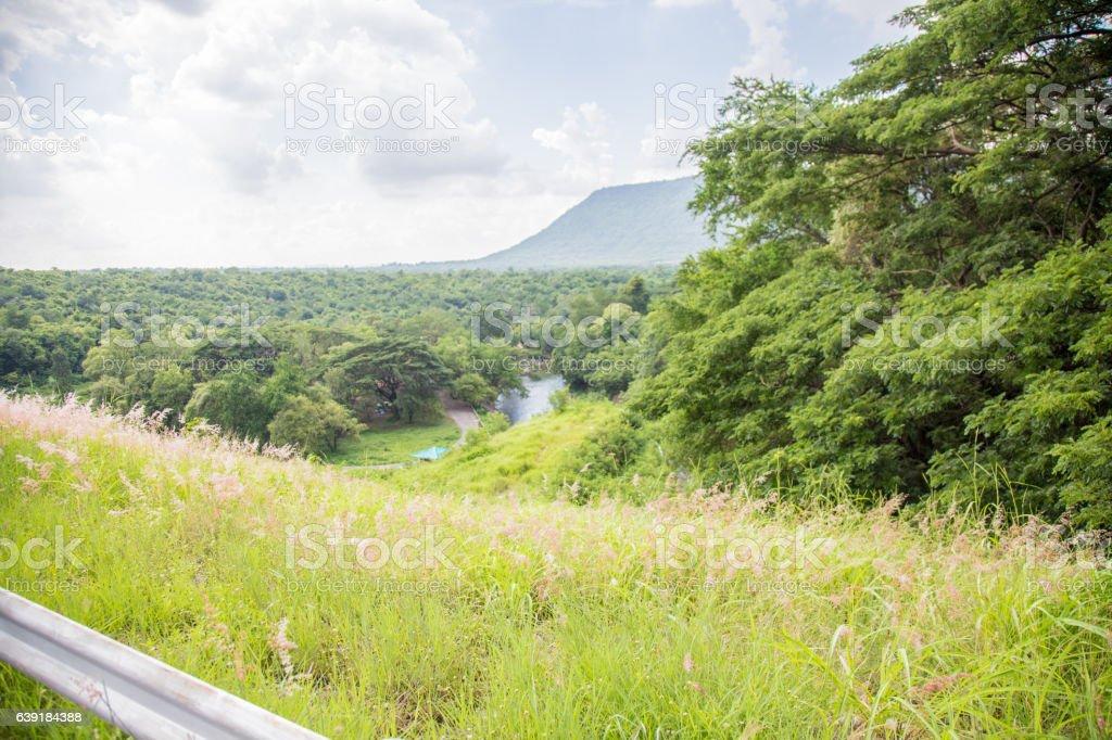 landscape mountain stock photo
