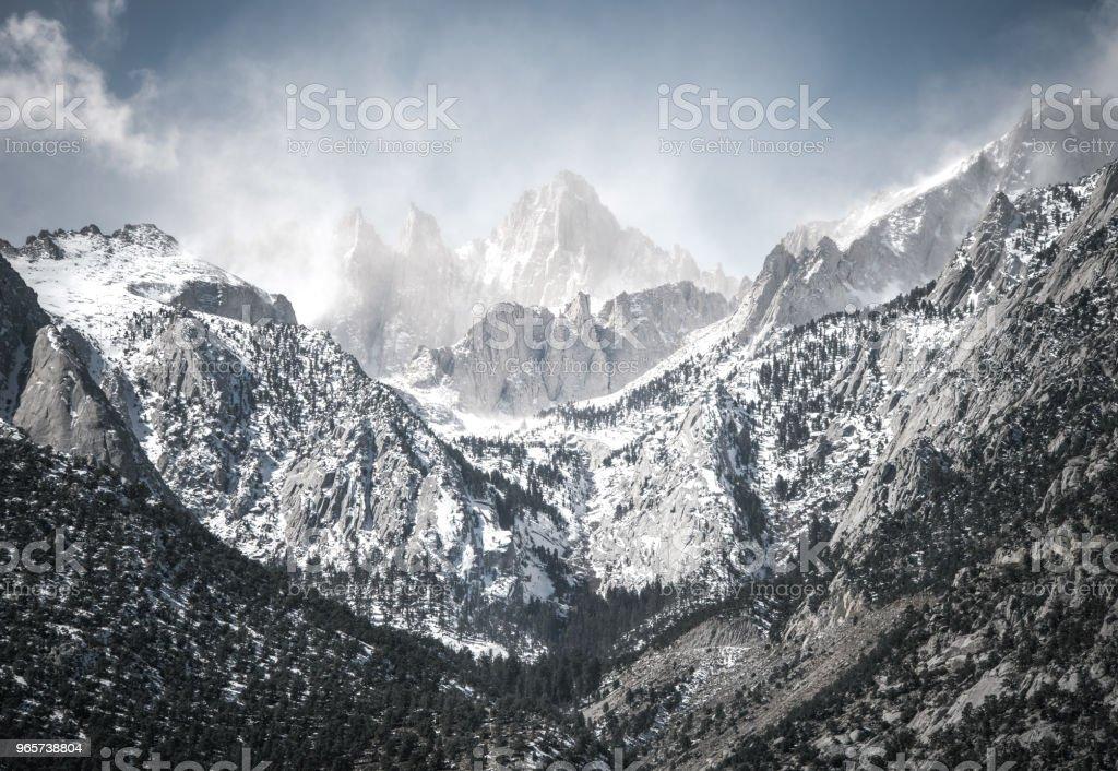 landscape Mountain Sunrise - Royalty-free Alpenglow Stock Photo