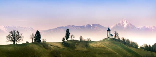 Landschaft in der Nähe von Jamnik – Foto