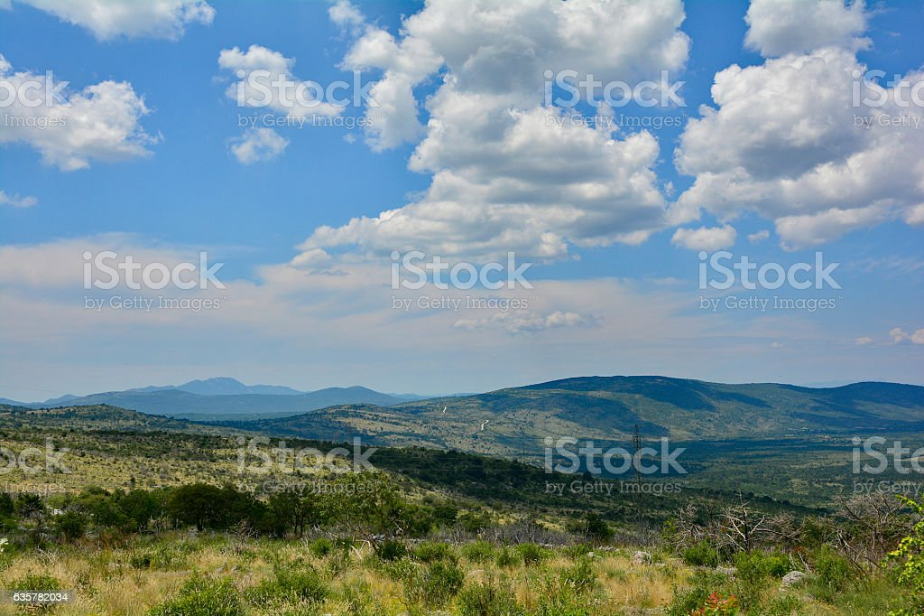 Landscape Near Ljubinje stock photo