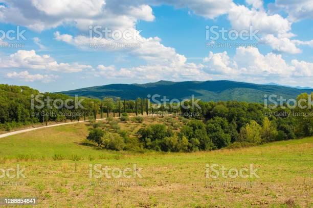 Photo of Landscape Near Murlo, Tuscany