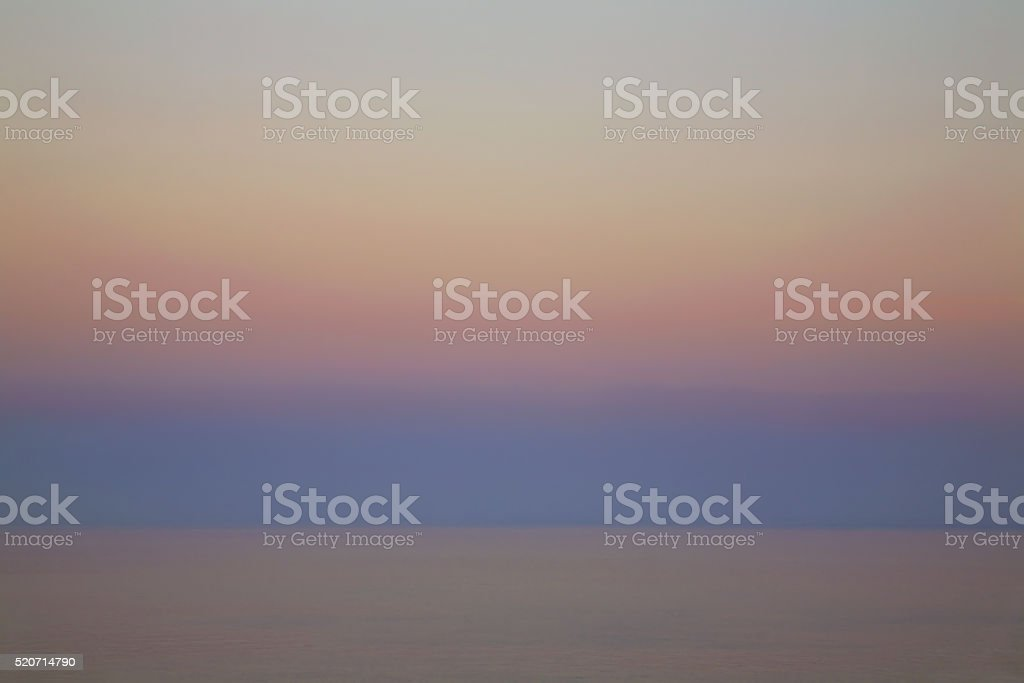 Landscape near Roquebrune-Cap-Martin. France stock photo