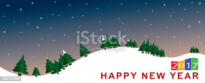 istock landscape newyear seasonal winter poster 2017 xmas 636102994