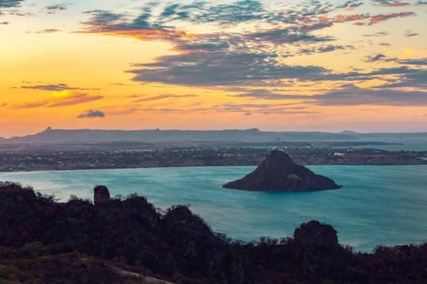 landscape of Antsiranana Bay, Madagascar stock photo